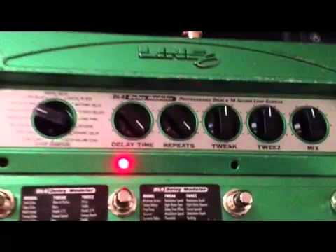 Line 6 DL4 - Infinity Tricks and Special Effects DEMO