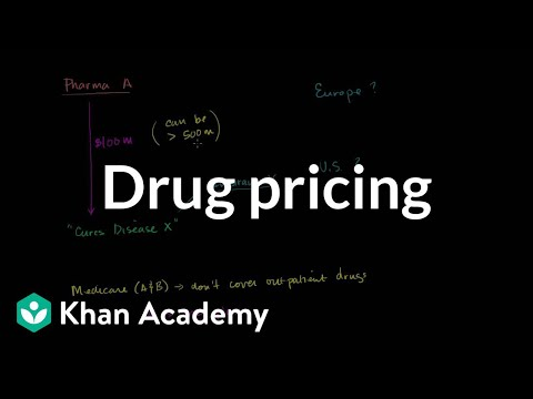 Conversation about drug pricing | Health care system | Heatlh & Medicine | Khan Academy