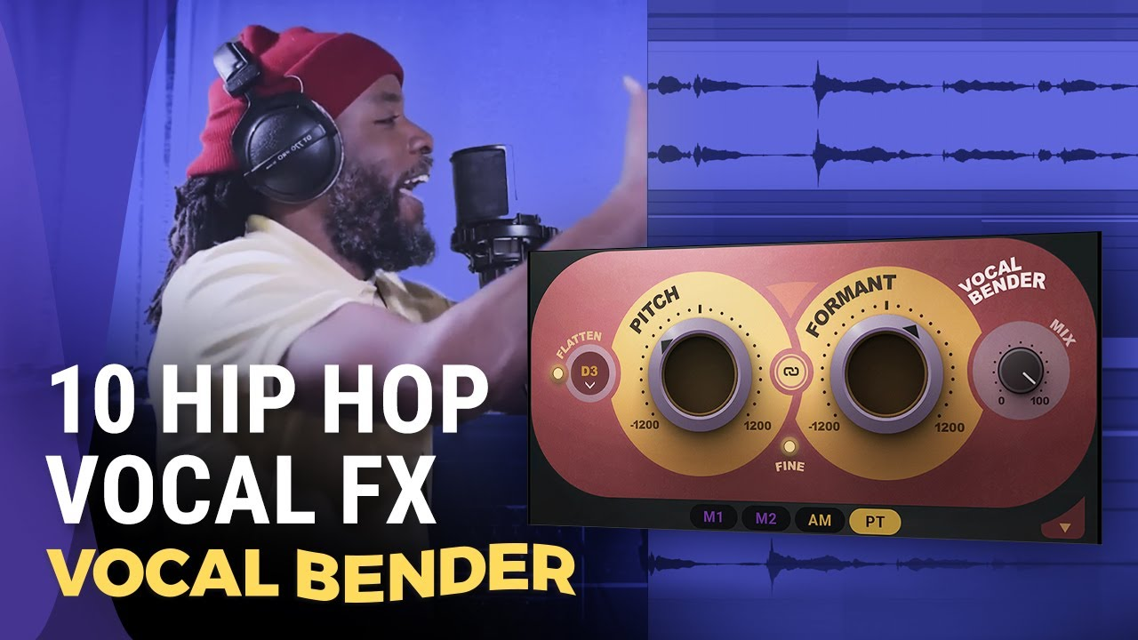 Vocal Effects: Check out 10 Hip Hop Vocal FX in REAL TIME | Vocal Bender