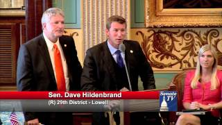 Senator Hansen teams with Senator Hildenbrand for Kids Food Basket