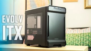 Phanteks EVOLV ITX Review - EVGA 980 Hybrid + Corsair H105 (Watercooled Build) thumbnail