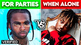 RAP SONGS TO PLAY AT PARTIES vs. RAP SONGS TO PLAY ALONE!