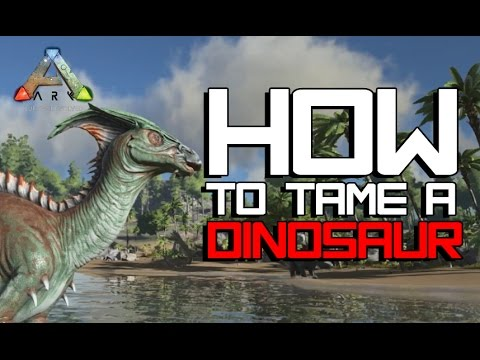 How To Tame A Rex Or Spino Ark Survival Evolved