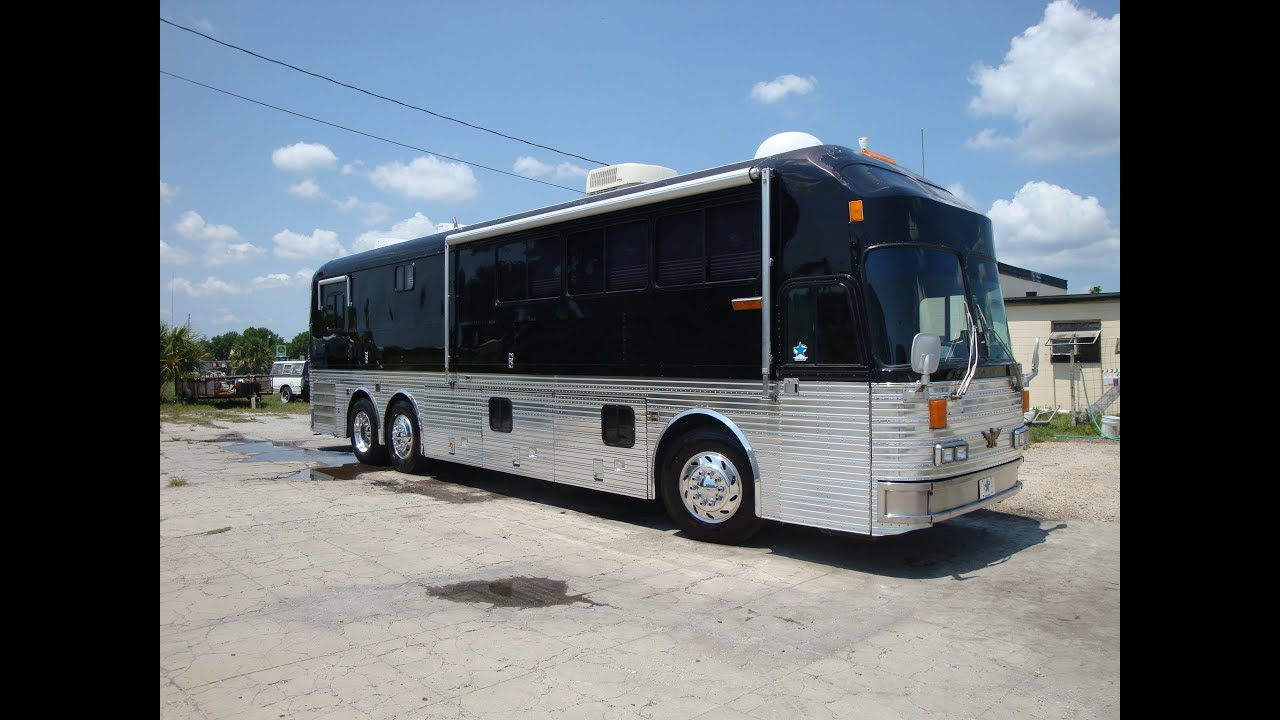 Bus Amp Car Company Silver Eagle Rv Bus With Slideout For