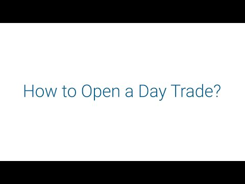 easyMarkets - How to Open a Day Trade