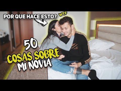50 cosas sobre mi NOVIA - Revelo TODO!!! Simon pulgarin