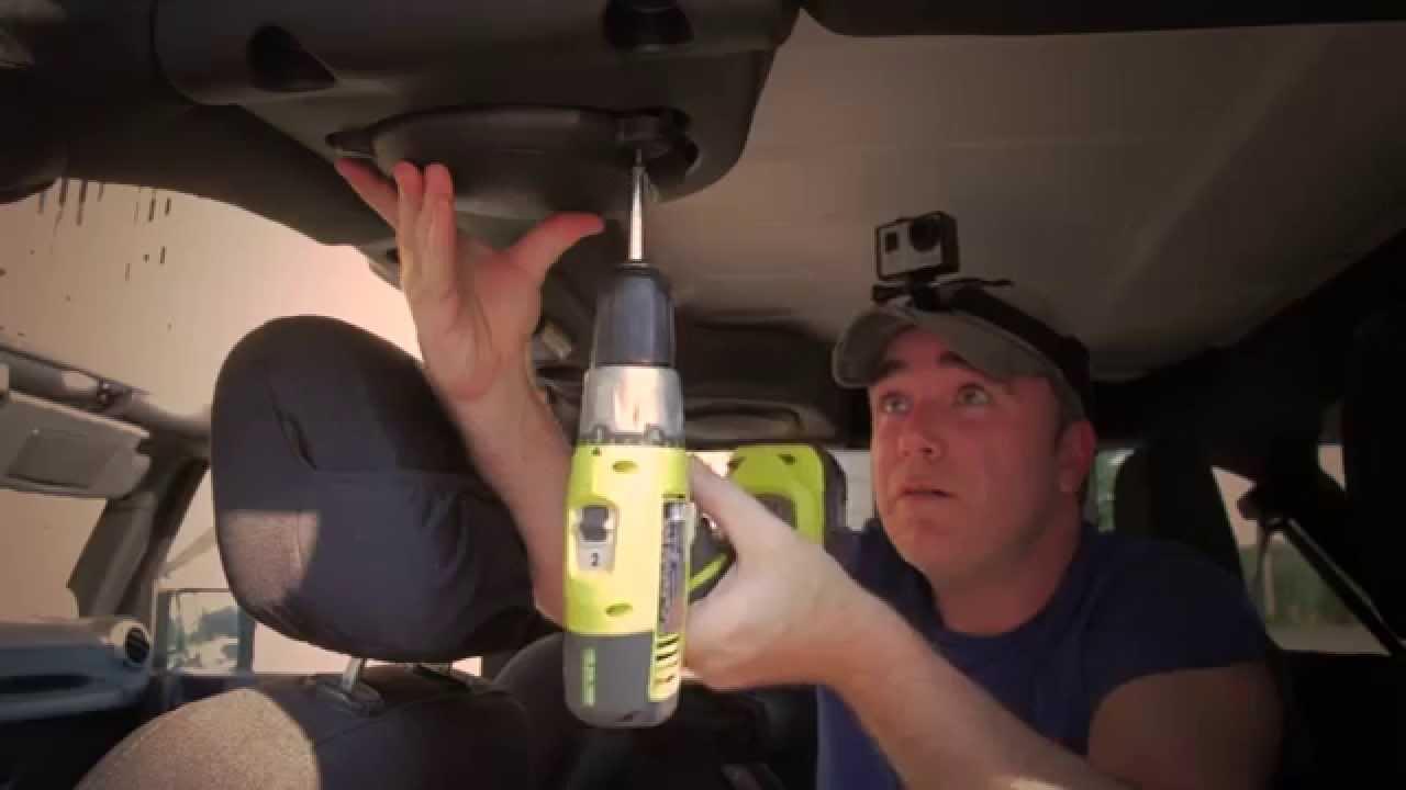Jeep Wrangler JK Unlimited Soundbar Boxen