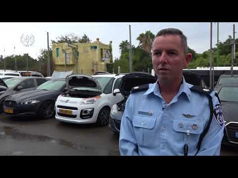 אשקלון: פשיטה על מגרש מכוניות שבעליו חשד כי זייף מכוניות טוטל לוס