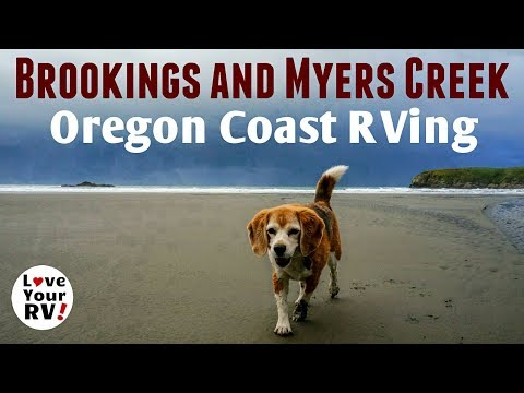 Brookings and Myers Creek Beach on the Oregon Coast 2018