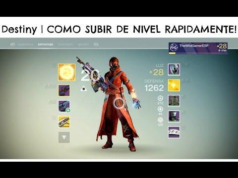 Destiny   COMO SUBIR DE NIVEL RAPIDAMENTE!