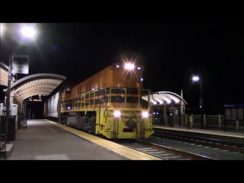 Early Morning Freight Action in National City 12/18/15