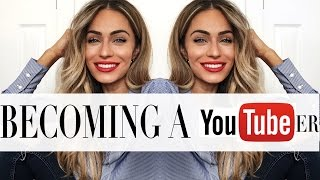 HOW I BECAME A YOUTUBER/BLOGGER | Lydia Elise Millen