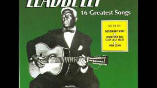 Watch Leadbelly On A Monday video