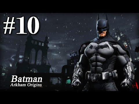 Batman Arkham Origins: Playthrough Part 10[Access the Gotham Merchants Bank and Apprehend The Joker]
