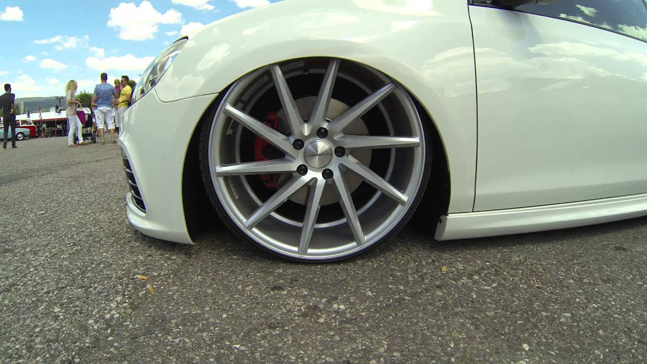 Honda Accord Sport Rims >> Wörthersee 2014 - Volkswagen Golf Vossen Wheels - YouTube