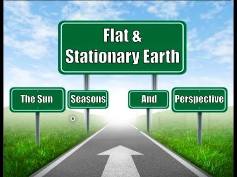 How The Seasons, The Sun, & Perspective Point To A Flat Earth thumbnail