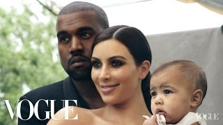 Behind Kim Kardashian West and Kanye West's April Cover Shoot | Vogue