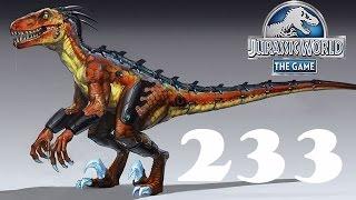 Динозавры Гибриды   Jurassic World The Game прохождение на русском 233