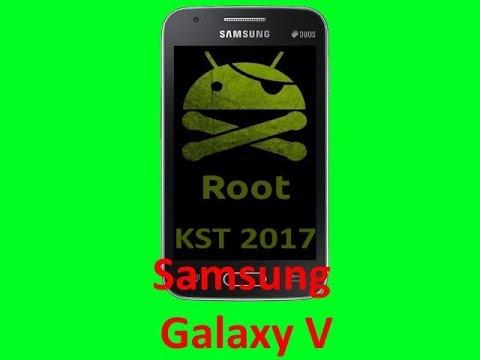 Root Samsung Galaxy V KST 2017