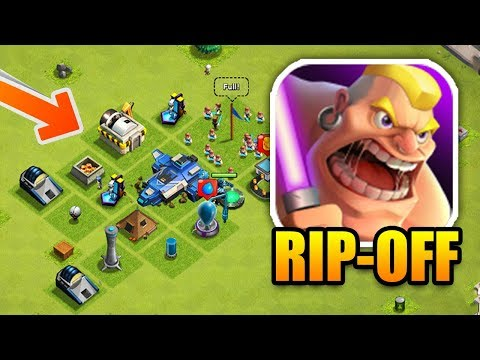 HILARIOUS Clash Of Clans Rip-off! | Exact Copy Of CoC!