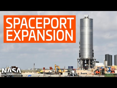 SpaceX Boca Chica - Additional facility expansion