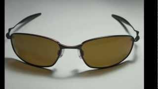 oakley whisker brown bronze polarized sunglasses
