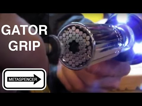 How a Gator Grip Universal Socket Works, Strengths and Weaknesses