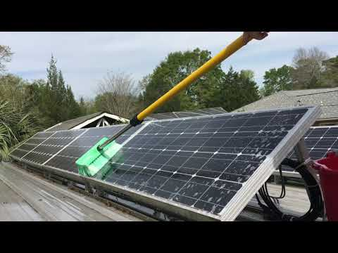 How to Clean Solar Panels and Improve Performance