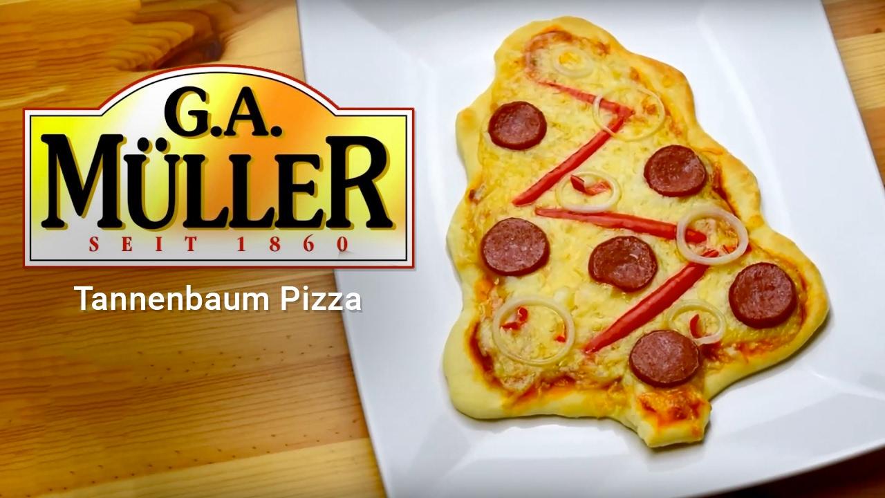 Pizza Tannenbaum.G A Müller Tannenbaum Pizza