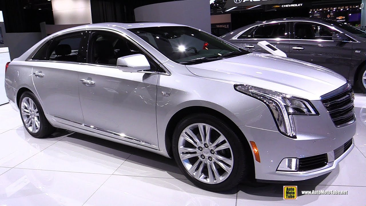 2018 Cadillac Xts Exterior And Interior Walkaround 2018 Detroit