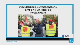 May Day in France  Simultaneous rallies 'to block the National Front'