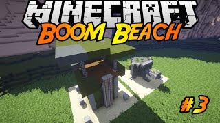 Boom Beach in Minecraft | Making of #3 | Submarine, Sniper Tower, Machine Gun