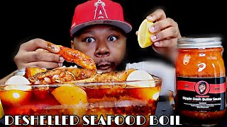 DESHELLED KING CRAB + LOBSTER SEAFOOD BOIL + DIPPIN DASH BUTTER SAUCE