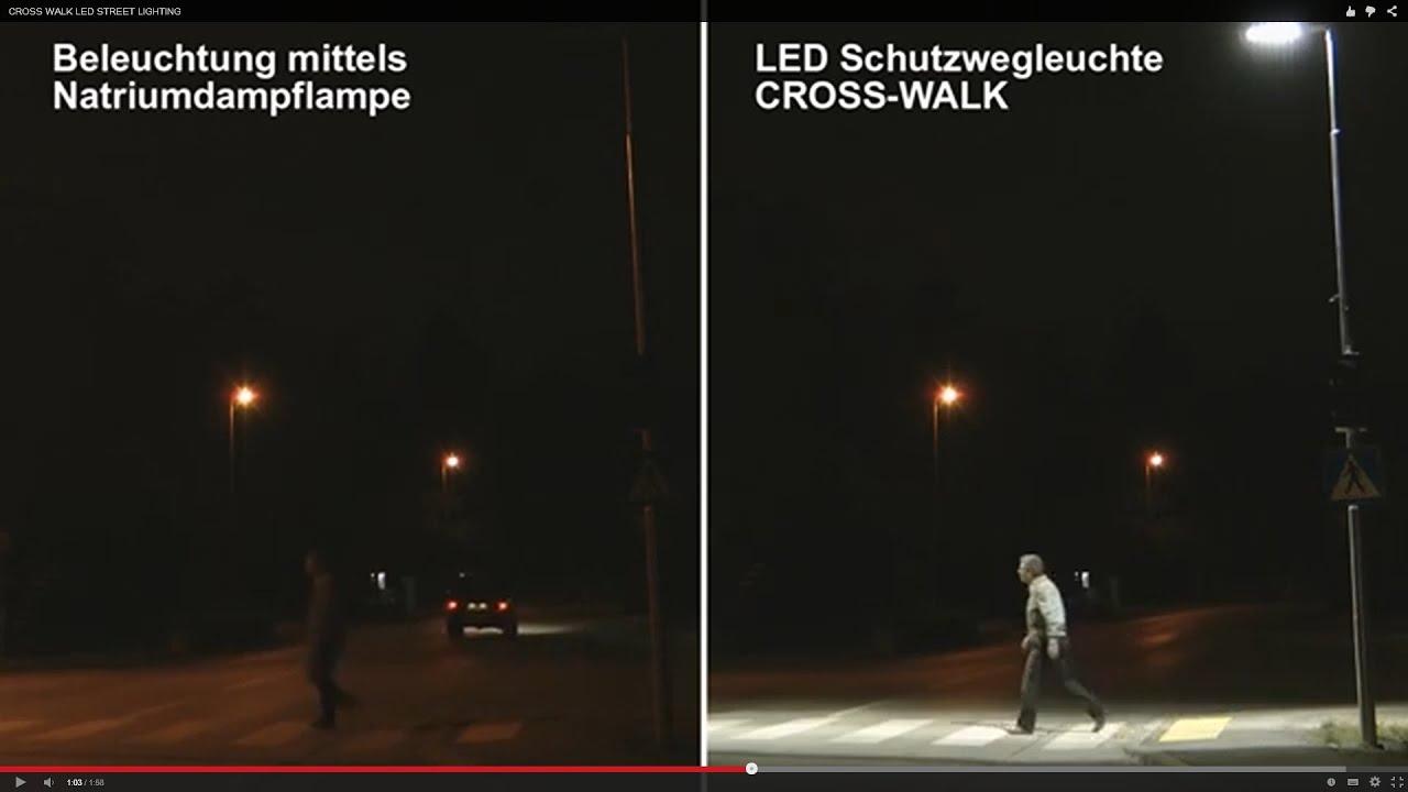 & CROSS WALK LED STREET LIGHTING u2013 German - YouTube