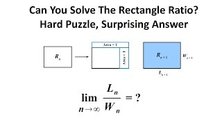 Can You Solve The Rectangle Ratio Puzzle? The Surprising Answer