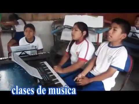 Music classes at the Quest School in Villa Maria