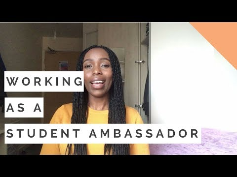 Working As A Student Ambassador | Benefits Of Being A Student Ambassador | Student Vlog