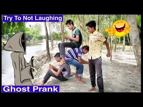 New Ghost Funny Video😄-😅Comedy Videos 2019 - Episode-5  || SMK FUNNY TV