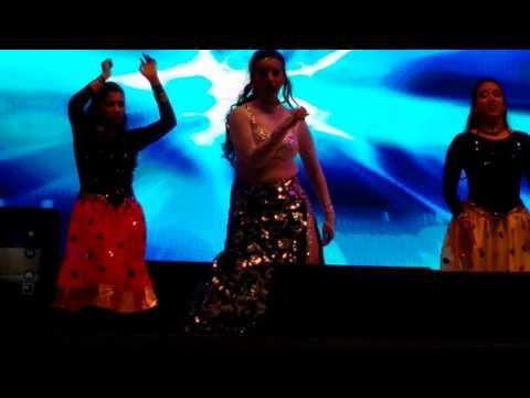 Bhojpuri Hungama Dance Doha Qatar Akshra Singh with Khesari Lal Yadav 04-03-2016