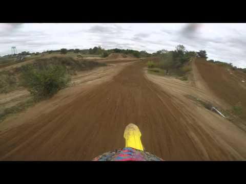 Carlos LG riding in Motoland Kingsbury  Indiana