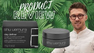 Shu Uemura Clay Definer Men S Product Review Eftv Youtube