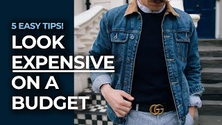 How To Look Good on A Budget! | Men