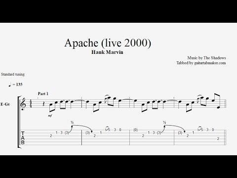 Hank Marvin - Apache TAB (live 2000)