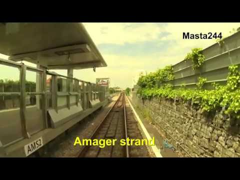 """Cabview"" Copenhagen Metro Line M2 / Danish metro"
