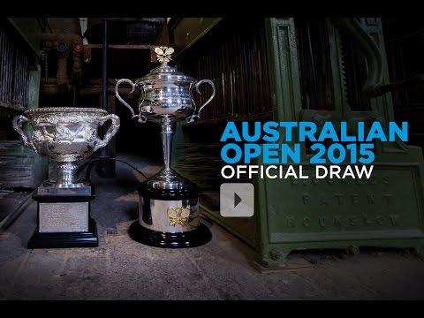 Australian Open 2015 Live Draw