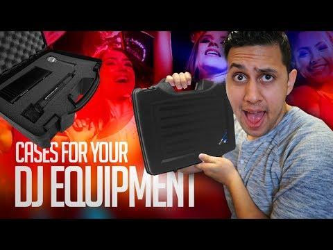 DJ GIG vLOG: How to Protect Your DJ Equipment (Custom DJ Equipment Cases) | CASEMATIX Review
