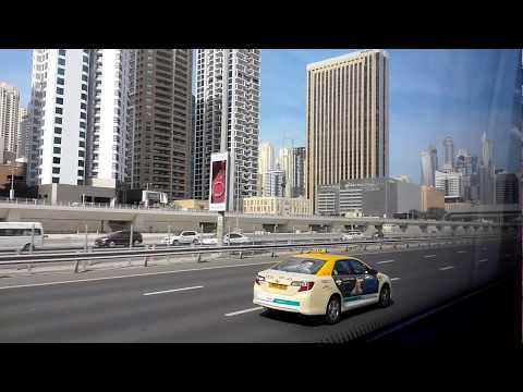 Abu Dhabi to Dubai By Bus- Part-1- Explore UAE In Minutes