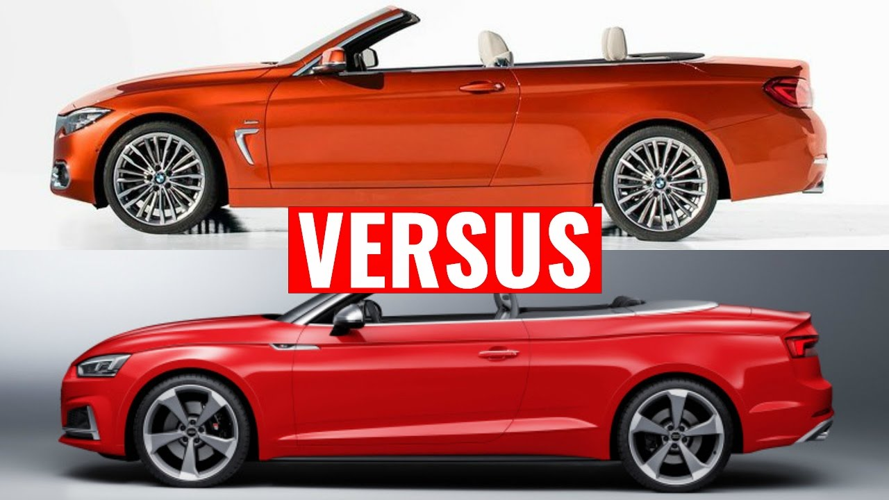 2018 Bmw 4 Series Convertible Vs Audi A5 Convertible Youtube