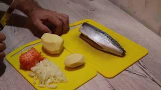 Уха из скумбрии. Ну или рыбный суп.))