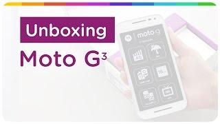 Unboxing Moto G 3ª Geração (2015)